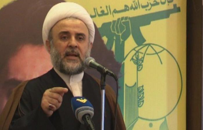 """قاووق: """"حزب الله"""" اليوم أمام مسؤولية جدية في نصرة القدس وفلسطين"""