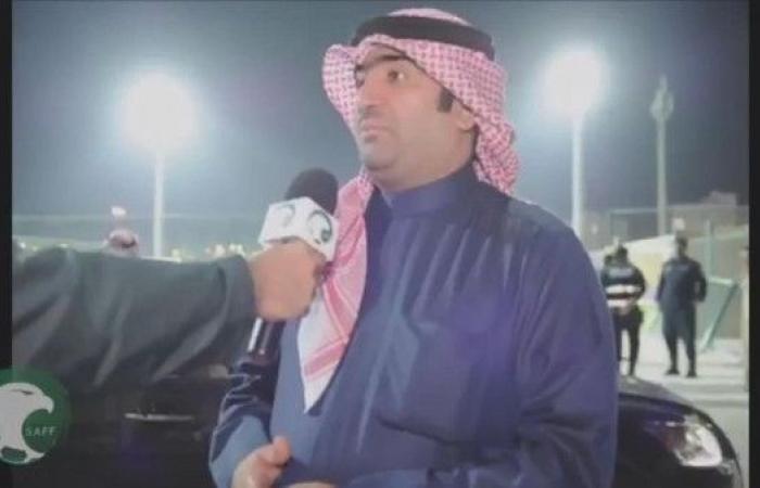 الوزير خالد الروضان يحضر تدريب المنتخب السعودي