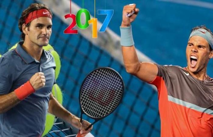 التنس في 2017..عنوان التألق اسمه: نادال وفيدرير