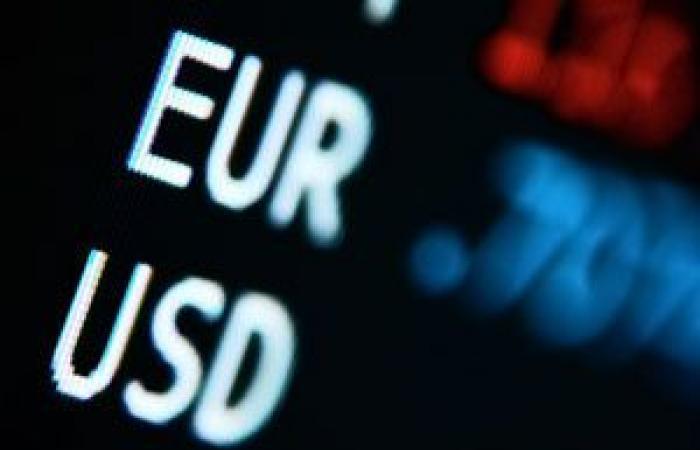اليورو يوسع مكاسبه لأعلى مستوى فى 4 أسابيع مقابل الدولار الأمريكي