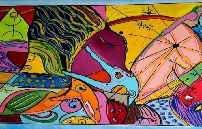 """""""مزاد المرسى"""" في سوق الفن المعاصر"""