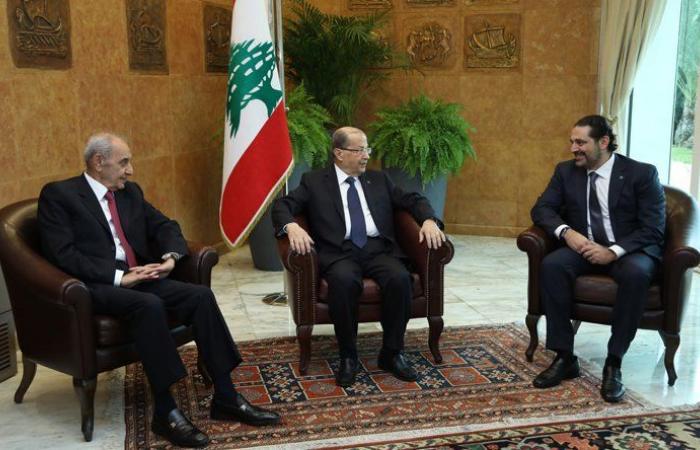 خطوات الحريري لمعالجة الخلاف بين الرئاستين الأولى والثانية على مستويين
