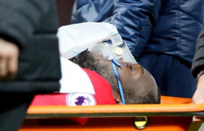 إصابة خطيرة تسقط لوكاكو دون حراك أمام ساوثهامبتون
