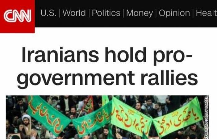 """السيناتور كروز ينتقد تغطية """"سي إن إن"""" لانتفاضة إيران"""