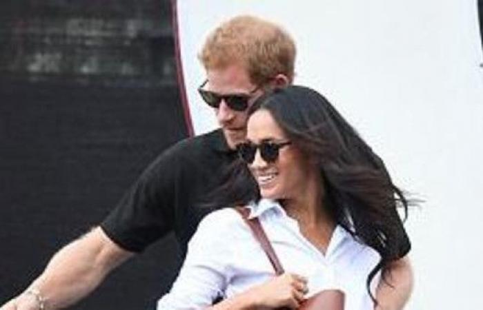 رحلة بائسة..الأمير هاري وخطيبته في مؤخرة طائرة