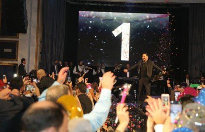 رامي عياش يودّع العام مع جمهور كبير في الاردن