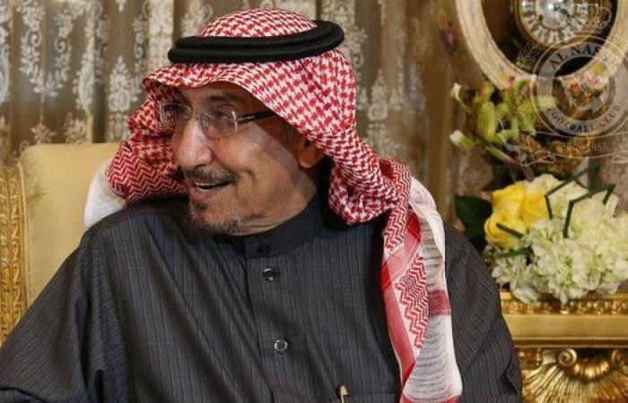 مشعل بن سعود يدعم النصر ويعتذر عن رئاسة الهيئة الشرفية