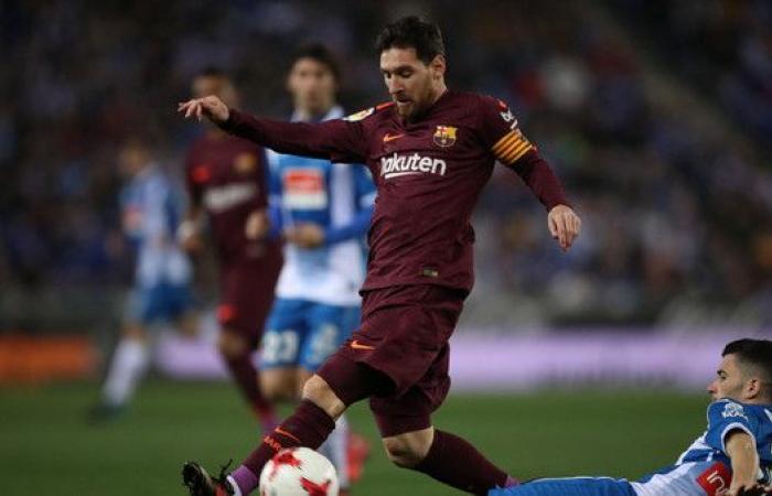 إسبانيول يسقط برشلونة في الوقت القاتل