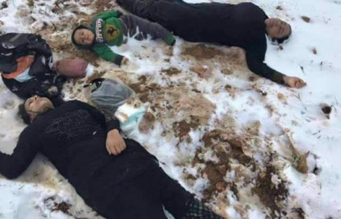 صور تحكي فصلاً جديداً من مأساة النازحين السوريين