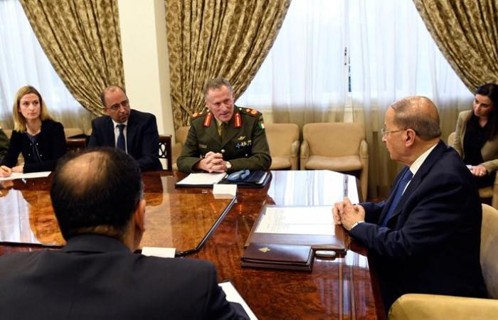 """رئيس بعثة """"اليونيفيل"""" يجول على الرؤساء الثلاث: دعمنا ثابت للقوات المسلحة اللبنانية"""