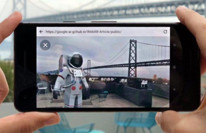 جوجل تعمل على جلب الواقع المعزز إلى متصفحها للويب كروم