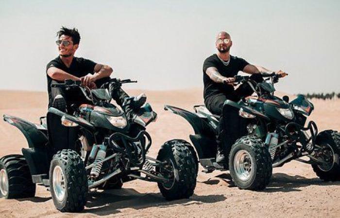 صحراء دبي تحتضن مساري ومحمد عساف في Roll With It!