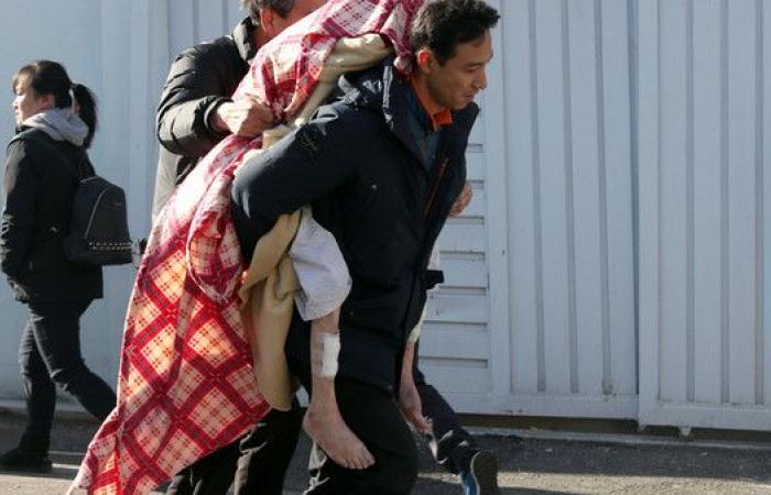 بالصور.. ألسنة النار تلتهم 41 مريضاً في مستشفى بكوريا
