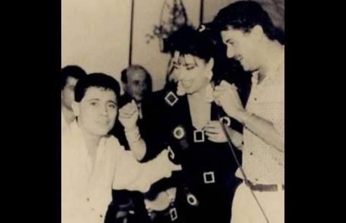 صورة نادرة تجمع نجوى كرم وجورج وسوف وراغب علامة في بداياتهم