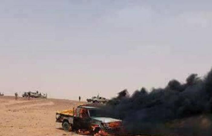 بالصور.. عمليات الجيش الليبي ضد عصابات تشادية بالجنوب