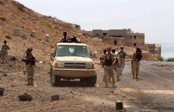 مواقع جديدة شمال لحج في قبضة الجيش اليمني