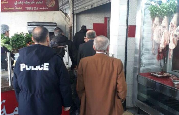 إنذارات لمحال لبيع اللُّحوم والدجاج في طرابلس