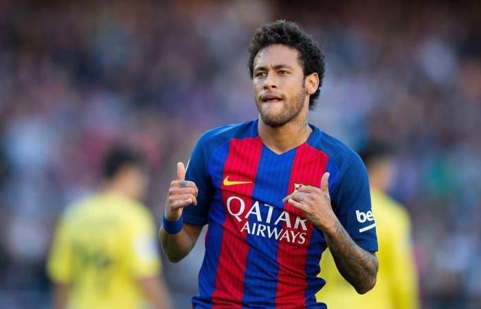 نيمار يرفع دعوى ضد برشلونة