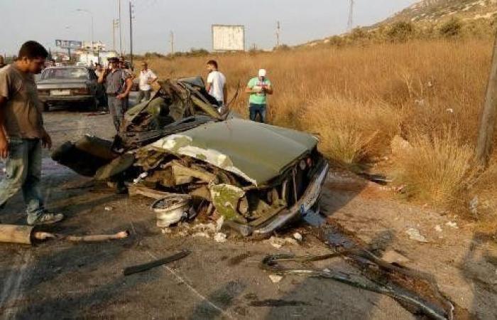 قتيل وجريح في حادث سيرٍ على أوتوستراد القلمون