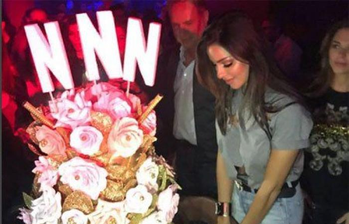 بالفيديو: هكذا احتفلت نادين نسيب نجيم بعيد ميلادها