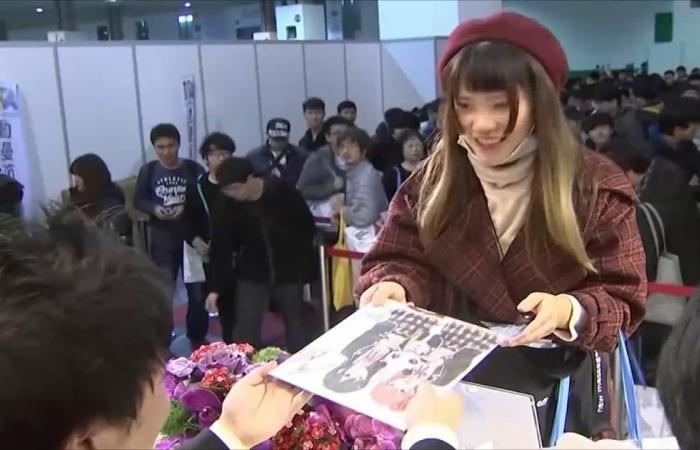 تفاعل كبير مع معرض لرسوم المانغا بتايوان