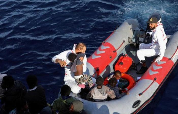 192 مهاجرا ليبيا خلال يناير الماضي ضمن قوارب الموت