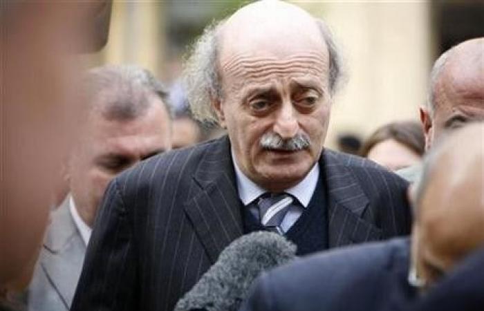 جنبلاط إستقبل مدير الاونروا في لبنان
