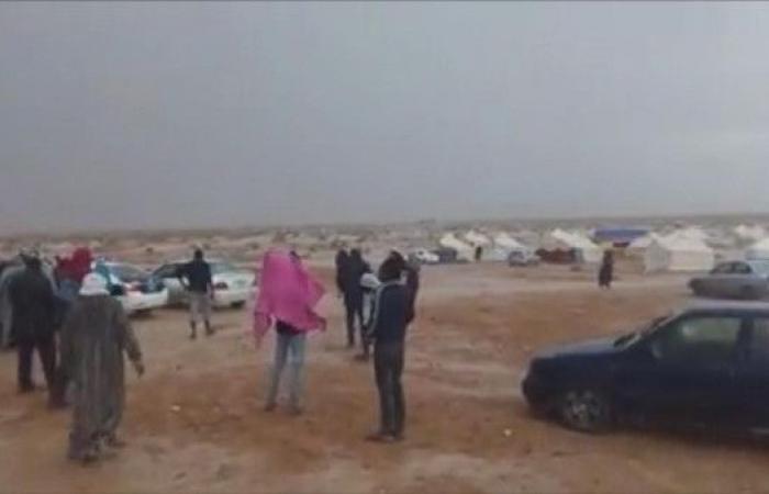 بسبب الأمطار.. أهالي تاورغاء يحاولون العودة ويفشلون
