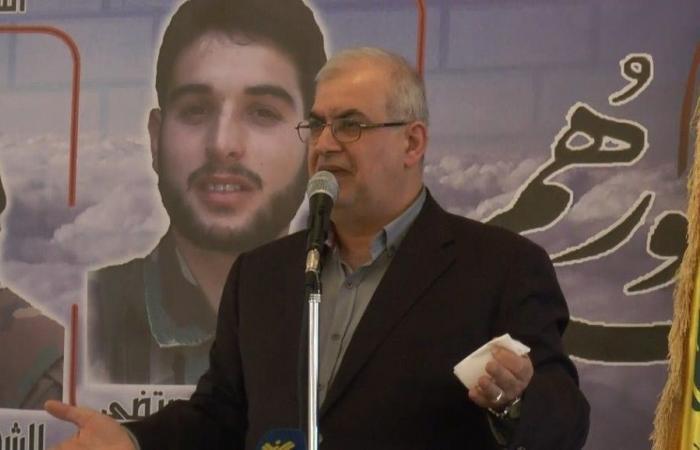 رعد: على إرادتكم يتوقف مصير لبنان والمنطقة