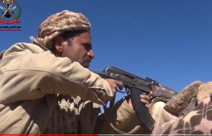 فيديو للجيش اليمني يتقدم في نهم.. وفرار الميليشيات