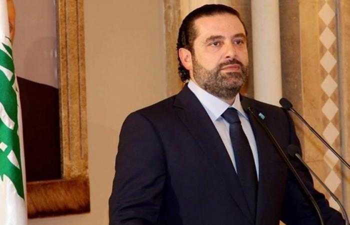 الحريري بحث وجونسون هاتفياً التطورات والتحضيرات لمؤتمري روما وباريس