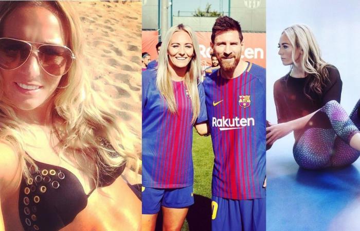 بالصور: تعرّف إلى نجمة برشلونة المُثيرة.. ما علاقتها بميسي؟