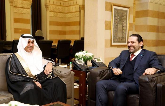 الحريري استقبل الموفد السعودي في السراي