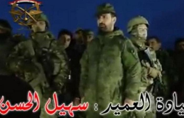 بالفيديو.. أشهر ضباط الأسد تحت حراسة روسيّة مباشرة!