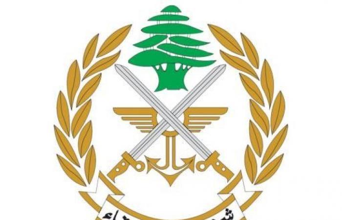 الجيش: زورق حربي معاد خرق المياه الإقليمية اللبنانية