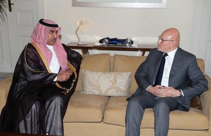 سلام استقبل العلولا: الزيارة تأكيد لدعم السعودية للبنان