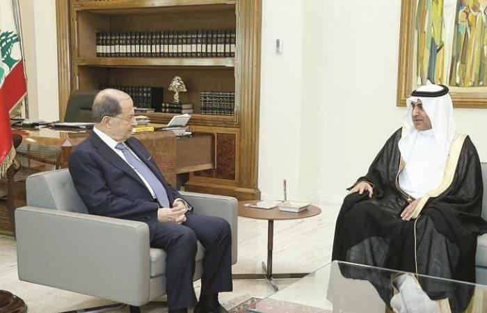 """لقاء الـ """"10 دقائق"""" بين الموفد السعودي وعون... أيُّ رسالة؟"""