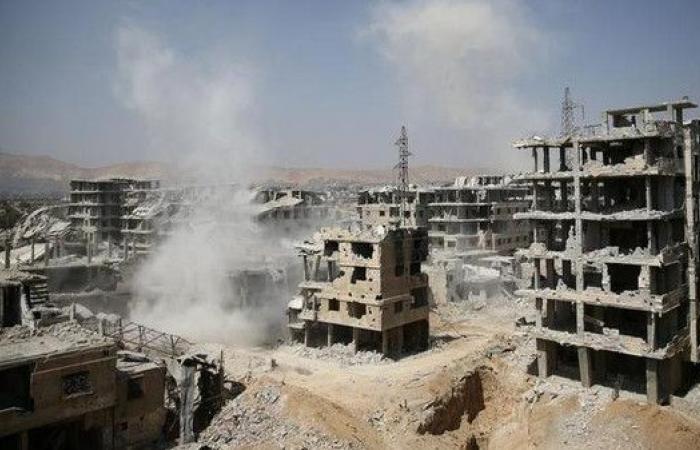 تقدم لقوات النظام السوري في الغوطة الشرقية المحاصرة