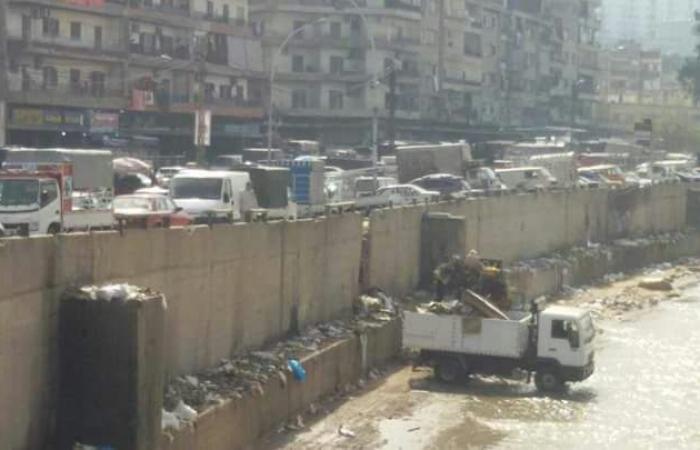 بالصور.. البدء بتنظيف مجرى نهر أبو علي في طرابلس