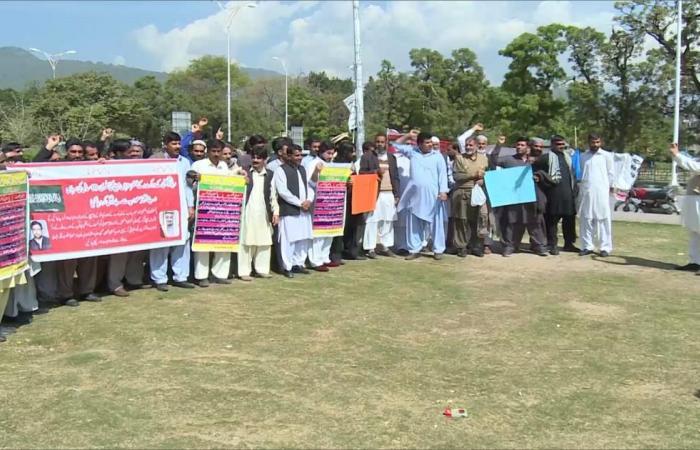 "عمال سابقون بـ""سعودي أوجيه"" يحتجون بباكستان"