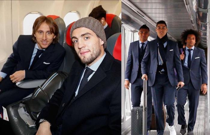 بالصور: ريال مدريد يصل باريس تحضيراً للمعركة المنتظرة