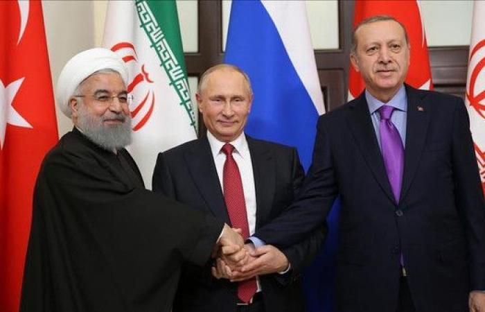 اجتماع رئاسي روسي إيراني تركي في إبريل حول سوريا