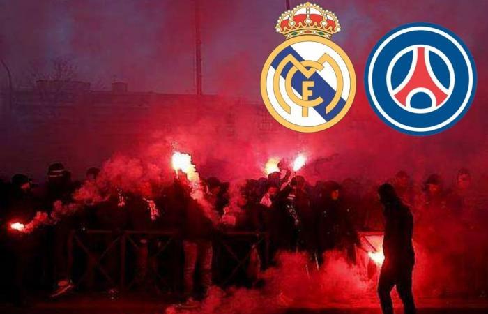 بالفيديو: ماذا فعل ألتراس PSG بنجوم ريال مدريد؟