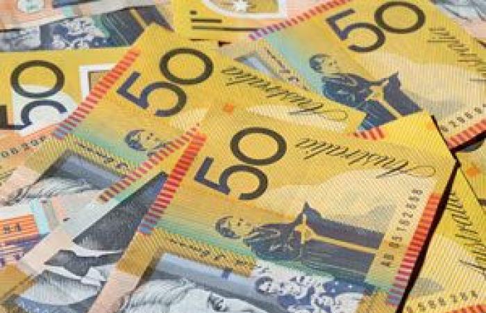 تراجع معدلات النمو في استراليا تدفع الدولار الأسترالي إلى الهبوط