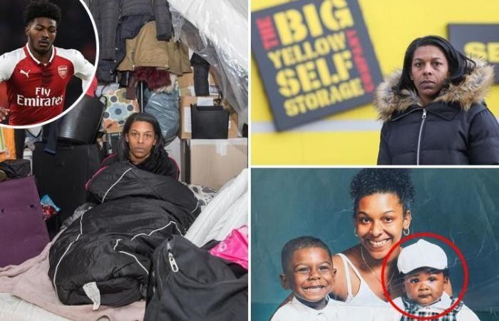 بالصور: والدة نجم أرسنال تعيش في الحاوية.. ابنها يكسب 42 ألف دولار أسبوعياً!