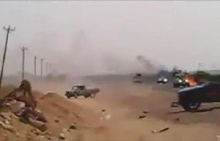 ليبيا.. سلاح الجو يقصف رتلاً للمرتزقة جنوب البلاد
