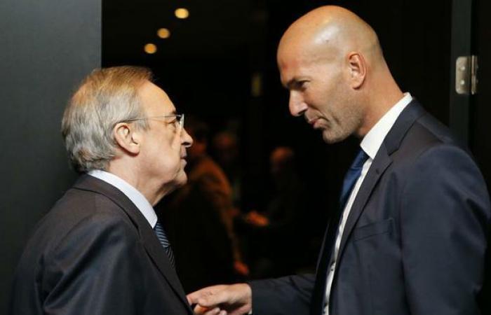 ماذا قال بيريز عن مستقبل زيدان في ريال مدريد؟!