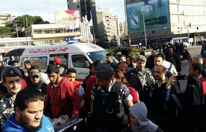 إصابة 4 أشخاص بحادث صدم في طرابلس
