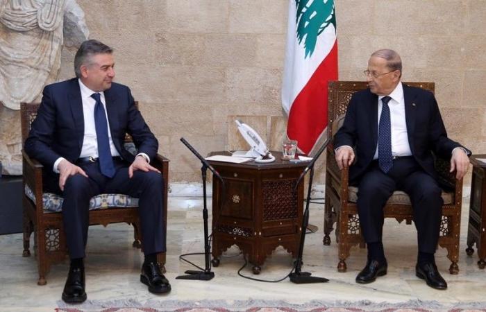 عون استقبل كرابتيان ونوه بتفعيل الاتفاقات مع أرمينيا