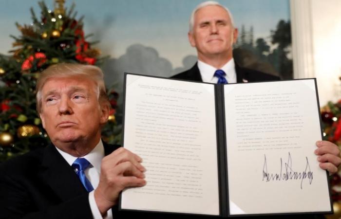 شكوى ضد ترمب لمنع نقل السفارة الأميركية للقدس